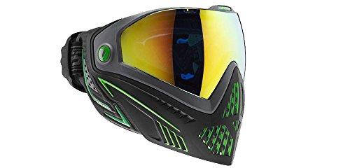 Dye i5 Paintball Maske, Mehrfarbig (Black/Lime), One Size -