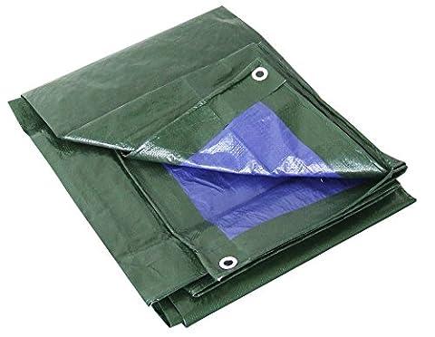 Bache Pvc 2 X 3m - Labor 0300152Bâche PVC renforcé avec œillets, vert,