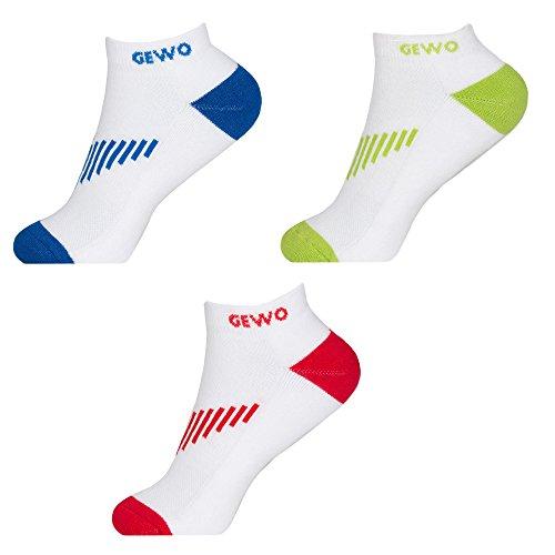GEWO Socke Short Flex, 39-41, weiss/blau