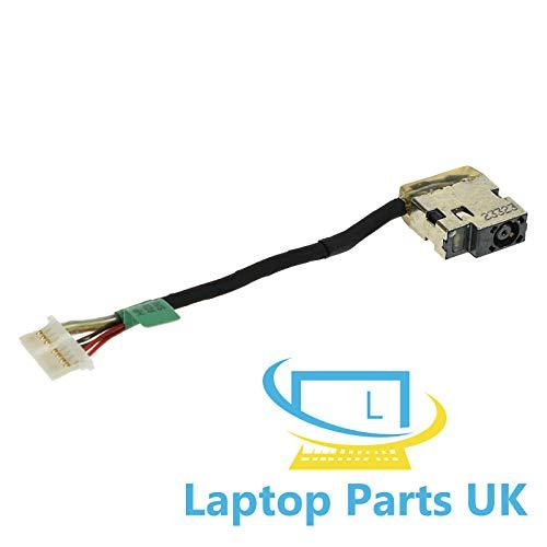 DC Jack Stromkabel kompatibel mit HP Envy m6-aq, m6-aq000, m6-aq100 Ersatz Ladekabelbuchse Connector
