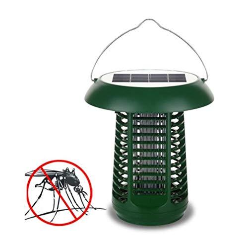 llent Lamp Licht-Moskito-Mörder-Lampe 2 in 1 Garten-Moskito-Mörder Licht-Sonnenkollektor-im Freienphotokatalysator LED-Licht-Insekten-Mörder ()