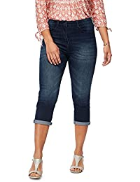 e70d89bf060ff7 Debenhams The Collection Petite Womens Dark Blue Cropped Petite Jeggings