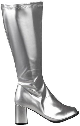 Boland Damen Stiefel - 46281 - Silber - 37 EU