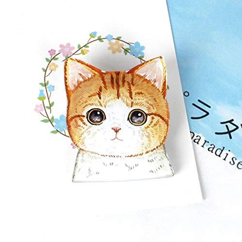 Neue produkt beliebte dame brosche lustige kleine charme niedlichen cartoon tier hundehalsband abzeichen brosche brosche -