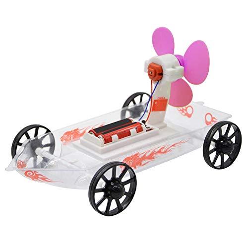 DIY Montieren Boot Spielzeug Kunststoff Aerodynamische Montage Schiff Wissenschaft Technologie Wind Energie Experiment Physikalisches Modell für Kinder