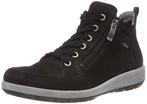 ara TOKIO, Damen Hohe Sneaker, Schwarz (Schwarz 14), 40 EU (6.5 UK)