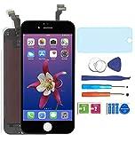 AUODA LCD Screen Display Touchscreen Bildschirm für iPhone 6 Digitizer Display schutzfolie (schwarz)