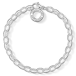 THOMAS SABO Damen-Armband für Charms 925 Sterling Silber X0031-001-12