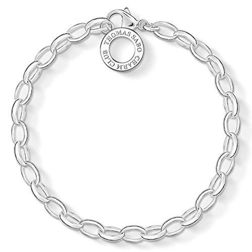 M Sabo Silberarmband für Charms 17 cm ()