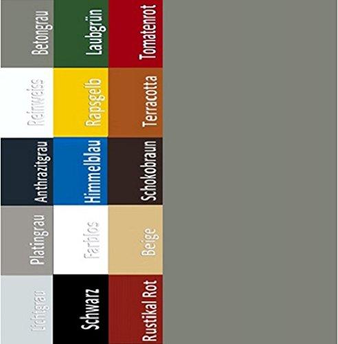 7,98EUR/L Bodenbeschichtung Bodenfarbe Boden Garagenfarbe Garagen Hallenfarbe Hallen Estrich Zement Farbe Betongrau 5L