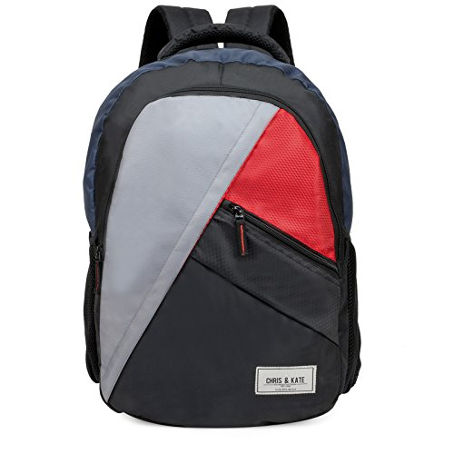 Chris & Kate Multicolor Big Comfortable Backpack | Laptop Bag | School Bag | College Bag (30 litres)(CKB!_150RT)