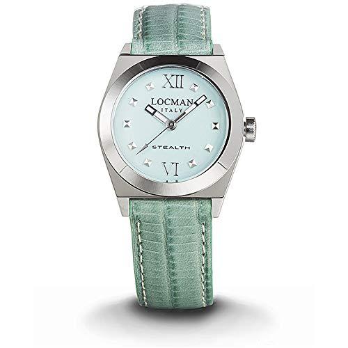 orologio solo tempo donna Locman Stealth casual cod. 0204A12A-00GANKPG