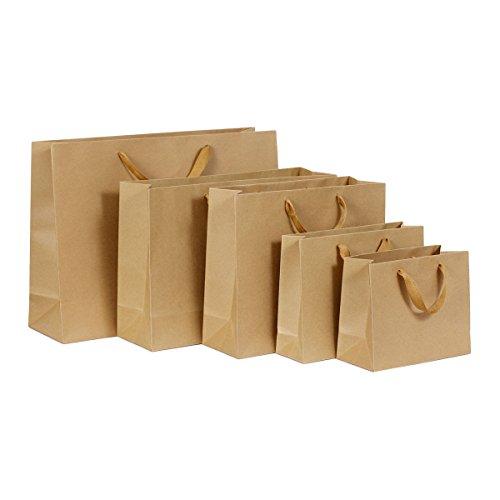 Geschenk Tasche mit Griff Weihnachten Neues Jahr Shopping Paket Taschen, Kreuz Version, 22x 18x 10cm, 30*25*8cm ()