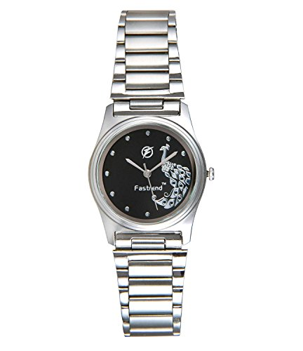 Fastrend Stainless Steel Ladies Wrist Watch – Beautiful Trendy Designer Analog Watch for Women / Girls Hand Watch – Silver