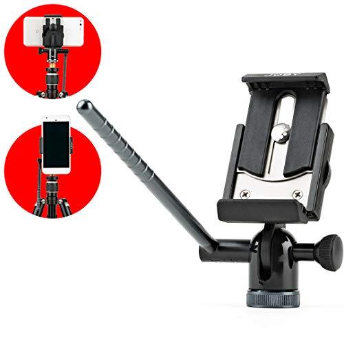 Joby JB01500-BWW GripTight PRO Video-Montagehalter-/Stativkopf (mit Schwenk-/Neigefunktion für Alle Smartphones mit oder ohne Hülle)