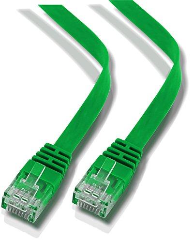 rhinocables RHINOFLAT Ethernet-Kabel, 2m, grün, Stück: 1