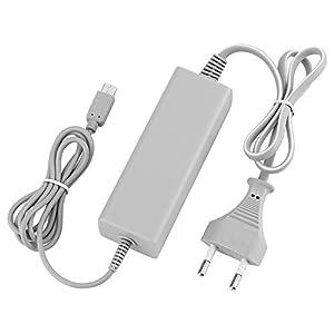 QUMOX Nintendo Wii U Ladekabel Netzteil Gamepad A/C Adapter Wii U Ladekabel Weiß