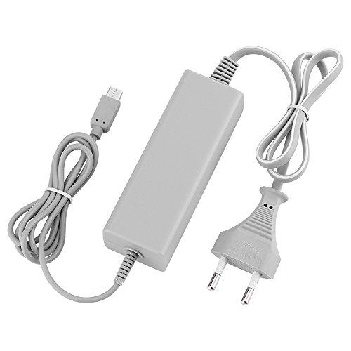 QUMOX Source de courant Adaptateur pour courant alternatif Pour Nintendo Wii U Manette