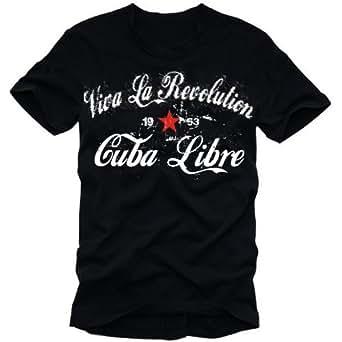 Viva La Revolution KUBA LIBRE VINTAGE schwarz GR.S