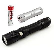 ThruNite® TN12 EDC LED-Taschenlampe mit ThruNite® C2 Charger+1pcs 18650 3400mAH