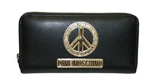 love-moschino-damen-geldborse-schwarz-schwarz