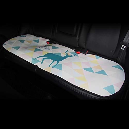 YSH Auto Beheizte Sitzkissen 12 V PadHeating Warm Für Winter Automatische Temperaturregelung Elektronische Waren Matte Heizung Sitz Zubehör,BWhite