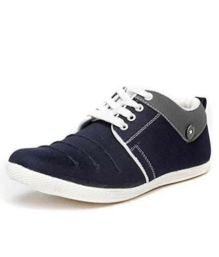 Aadi Enterprises Men's Blue2 Canvas Sneakers (7)