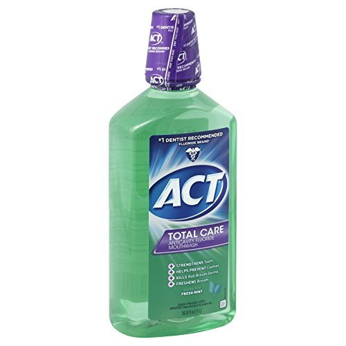 Act Total Care Anticavity Fluoride Mouthwash Fresh Mint by ACT -