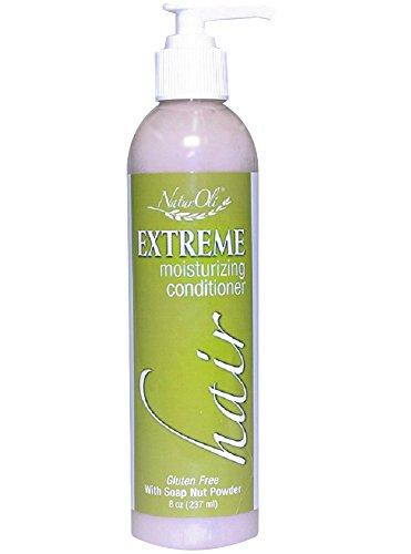 NaturOli Extreme Hair Moisturizing Conditioner with USDA Certified Organic Soap Berry Powder! Gluten Free. by NaturOli