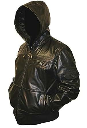 Leatherbox giacca uomo abbigliamento for Amazon uomo