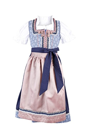 Michaelax-Fashion-Trade Krüger – Kinder Trachten Dirndl, Kinderdirndl in Blau (Artikelnummer:...