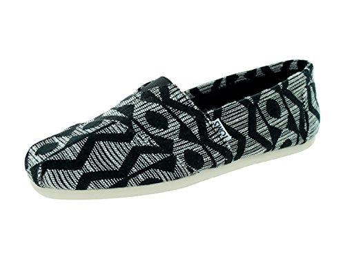 15afdaac719 Toms 0886468798631 Mens Classic Casual Shoe Black White 85 Dm ...