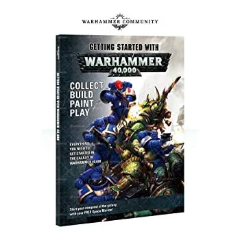 99120199085 Games Workshop - Getting Started with Warhammer 40,000 (English)