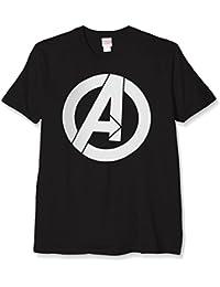 Marvel Avengers Simple Logo, T-Shirt Homme