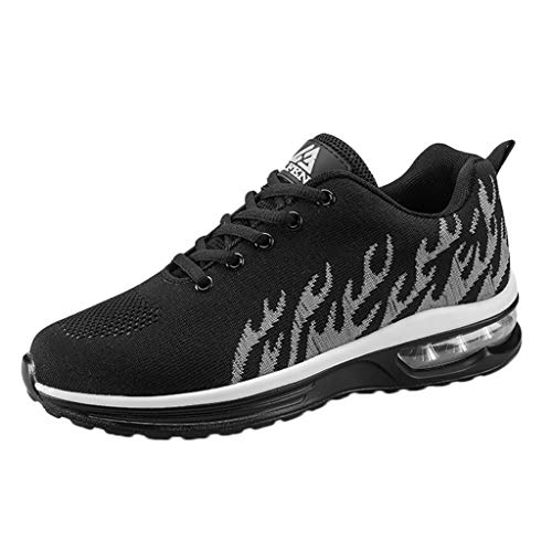 Preisvergleich Produktbild SSUPLYMY Herren Atmungsaktive Sneakers Outdoor Ultra Light Schuhe Luftkissen Bequem Mesh Breathable Müßiggänger Ultra-Light Sneaker Gym Fitness Turnschuhe Schnürer Laufschuhe 39-44