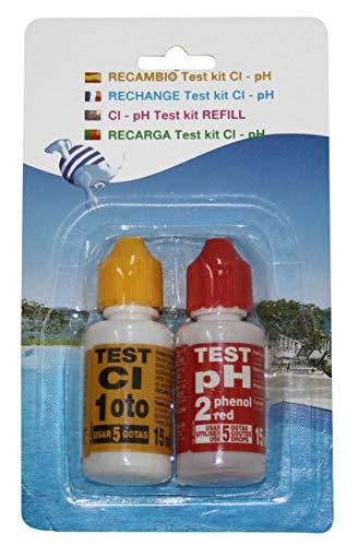 PQS Ersatzteil Test Kit pH/Chlor, verschiedene Farben -