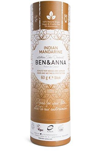 Ben&Anna Deodorant Paperstick Indian Mandarine
