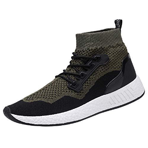 Damen Sneakers,Beikoard Mode Männer Hohe Hilfe Weiche Sohle Laufschuhe Gym Schuhe Socken Schuhe Turnschuhe Sport Schuhe Outdoor Schuhe - Paris Slingback