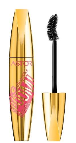 ASTOR Big & Beautifull Boom! Curved Mascara, 910 Ultra Black, 1er Pack (1 x 12 ml)