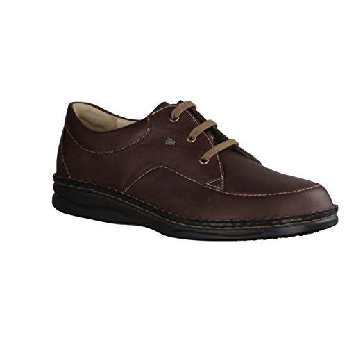 Finn Comfort  01114543135, Chaussures de ville à lacets pour homme Dunkel-Braun