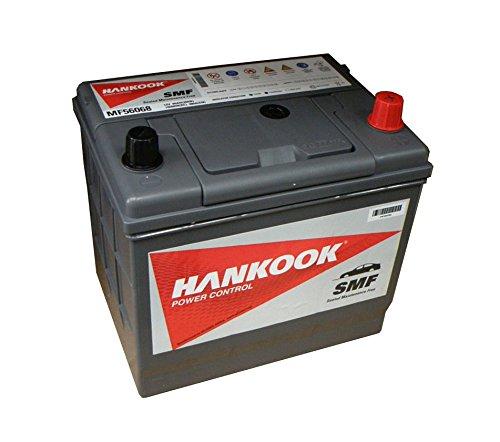 Hankook 60Ah Batterie de Voiture - 12V - 480CCA - 2 ans de garantie
