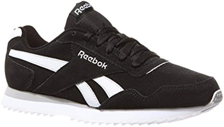 Reebok Royal Glide Rpl, Zapatillas de Deporte para Hombre, Negro (Black/White/Mgh Solid Grey 000), 45 EU