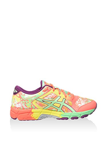 Asics Chaussures Running GEL-NOOSA TRI 11 GS enfant flash coral-spring bud-sun