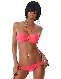 Esther Queen Damen Neckholder-Bikini im eleganten Design