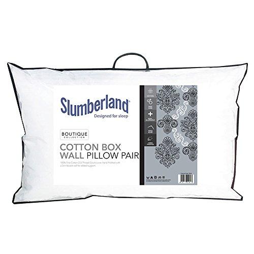 slumberland-coton-boite-murale-paire-doreillers-coton-luxueux-et-super-doux-en-microfibre-garni-avec