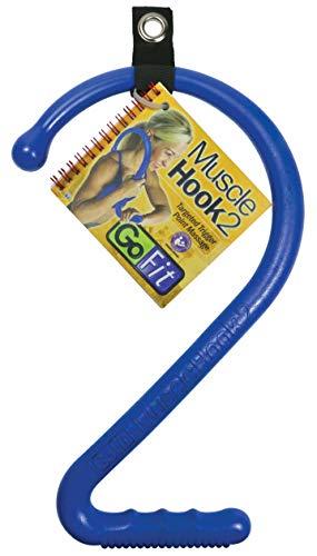 Homedics Handheld-massagegerät (GoFit Muscle-Haken, Blau)
