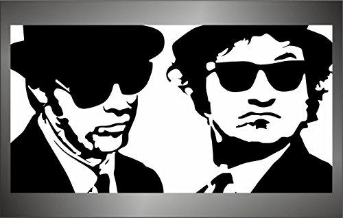 Preisvergleich Produktbild Aufkleber - Sticker The Blues Brothers hip hop rap jazz hard rock pop funk sticker