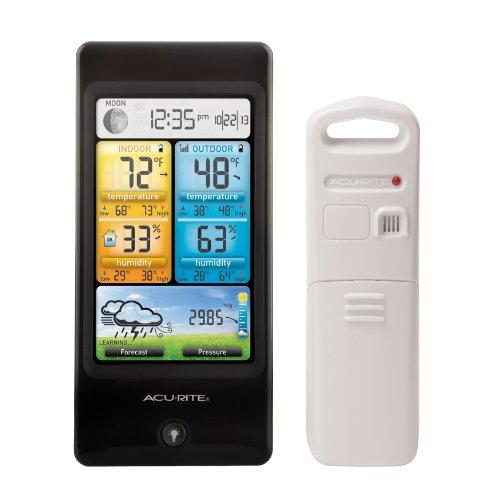 AcuRite 02016Farbe Wetterstation mit Vorhersage/Temperatur/Luftfeuchtigkeit - Acu-rite Wireless Thermometer