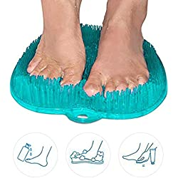 Douche pour appareil de massage pour les pieds, tampon pour appareil de lavage pour pieds enceinte - améliore la circulation des pieds, le spa pour les pieds, l'exfoliation, la brosse pour massage