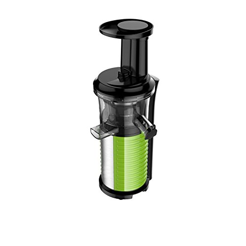 Profi Fruchtpresse + Gemüsepresse BPA-Frei, Slow-Juicer für MEHR Vitamine, MEHR Geschmack, MEHR Saft, spezielles Presssystem – Geschwindigkeit: 60 Umdrehungen pro Minute - 3
